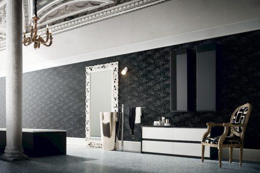JACANA JA21 - Mobile luxury arredo bagno L.100+50+144 cm personalizzabile COMPAB