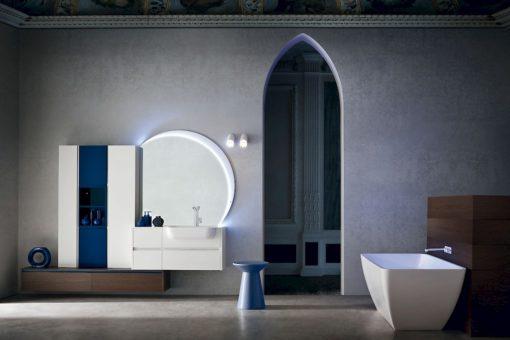 JACANA JA25 - Mobile luxury arredo bagno L.254 cm personalizzabile COMPAB