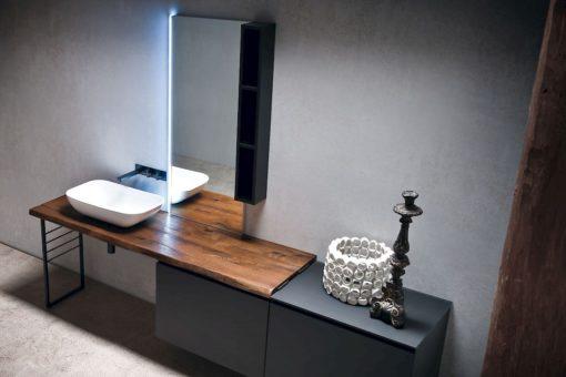 JACANA JA28 - Mobile luxury arredo bagno L.240 cm personalizzabile COMPAB