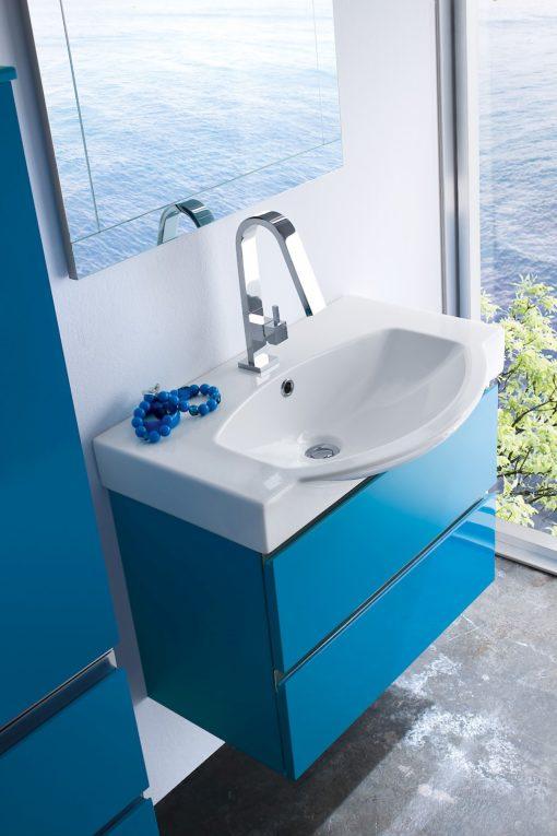 JACANA JA2 - Mobile luxury arredo bagno L.72+50 cm personalizzabile COMPAB