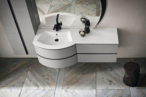 JACANA JA30 - Mobile luxury arredo bagno L.191 cm personalizzabile COMPAB