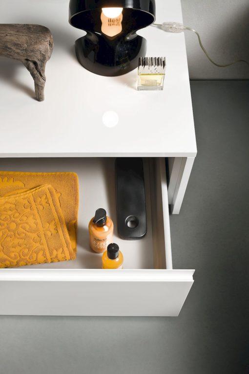 JACANA JA32 - Mobile luxury arredo bagno L.170+165 cm personalizzabile COMPAB