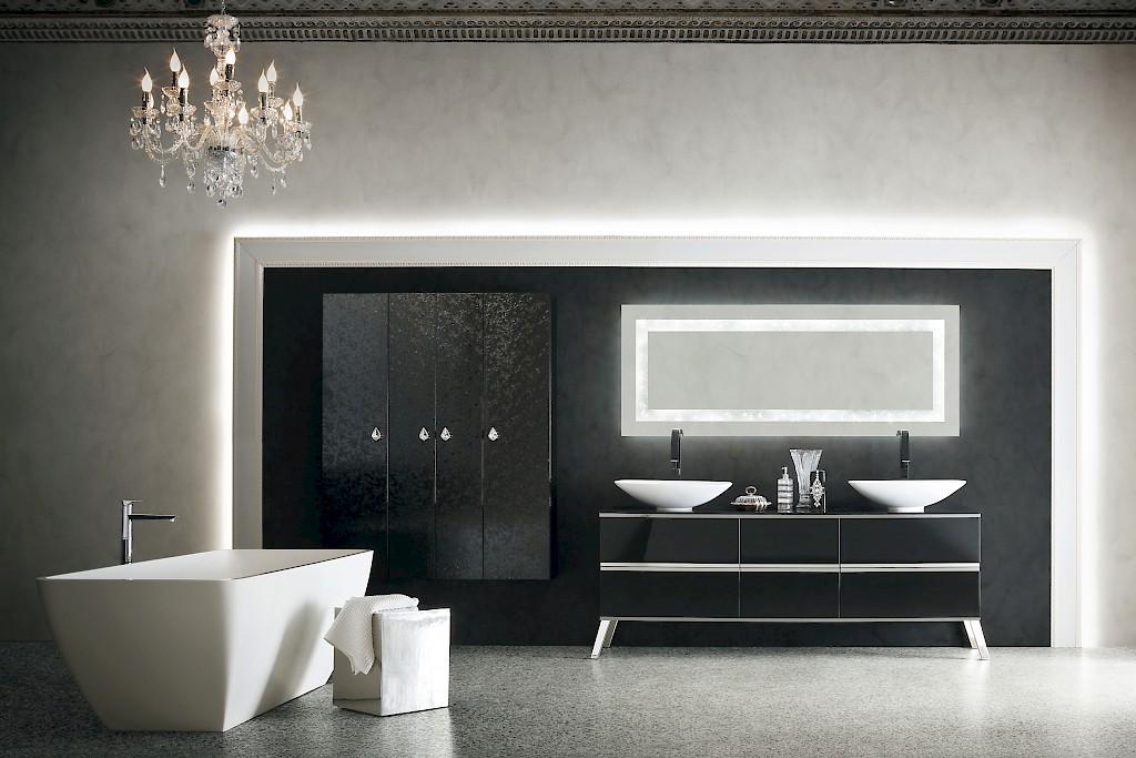 Mobili da bagno di lusso luxury design di stile classico for Bagno padronale di lusso