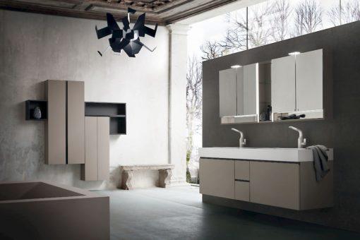 JACANA JA37 - Mobile luxury arredo bagno L.166 cm personalizzabile COMPAB