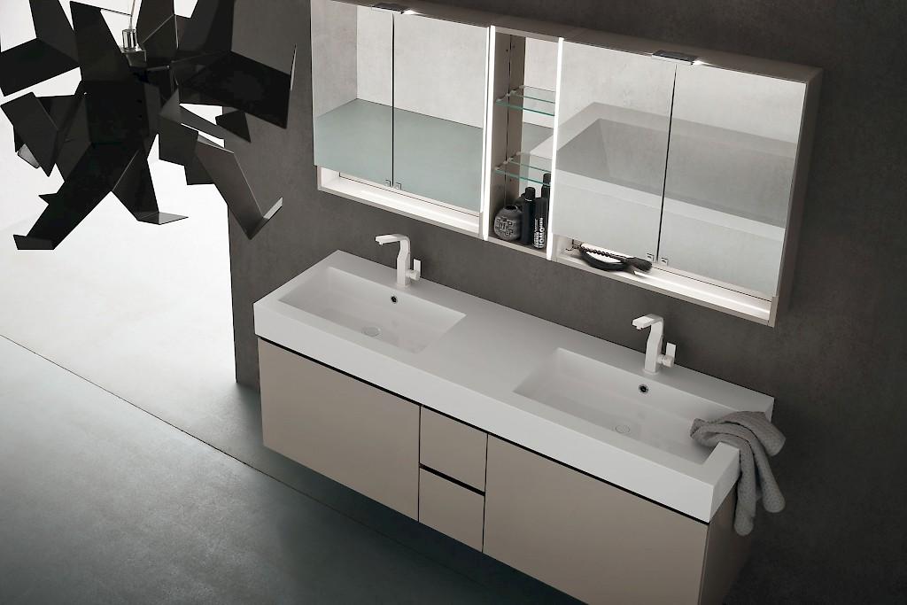 Jacana ja37 mobile luxury arredo bagno cm personalizzabile compab interno77 - Arredo bagno compab ...