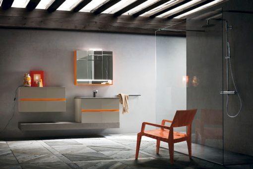 JACANA JA39 - Mobile luxury arredo bagno L.210 cm personalizzabile COMPAB