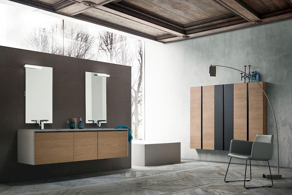 JACANA JA40 - Mobile luxury arredo bagno L.194,4 cm personalizzabile COMPAB - INTERNO77 ...