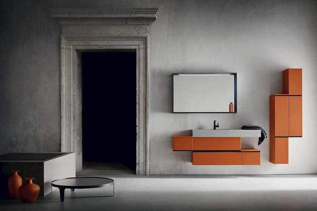Pensile Bagno Moderno Atlantic : Mobili bagno cm great mobile design moderno base