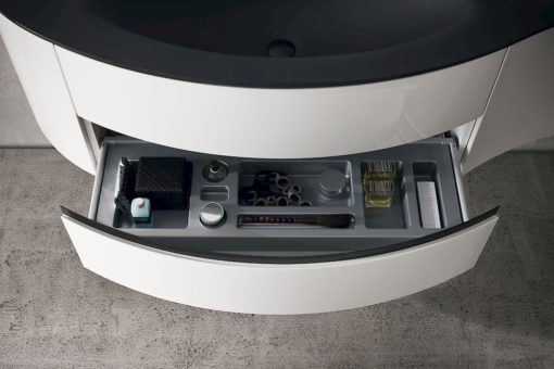 JACANA JA38 - Mobile luxury arredo bagno L.241 cm personalizzabile COMPAB