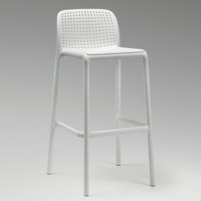 Lido - Sgabello dalle linee semplici e design morbido