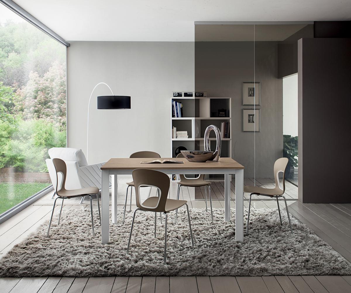 Mario - Tavolo per cucina o soggiorno moderno - INTERNO77 | Soluzioni  d\'arredo