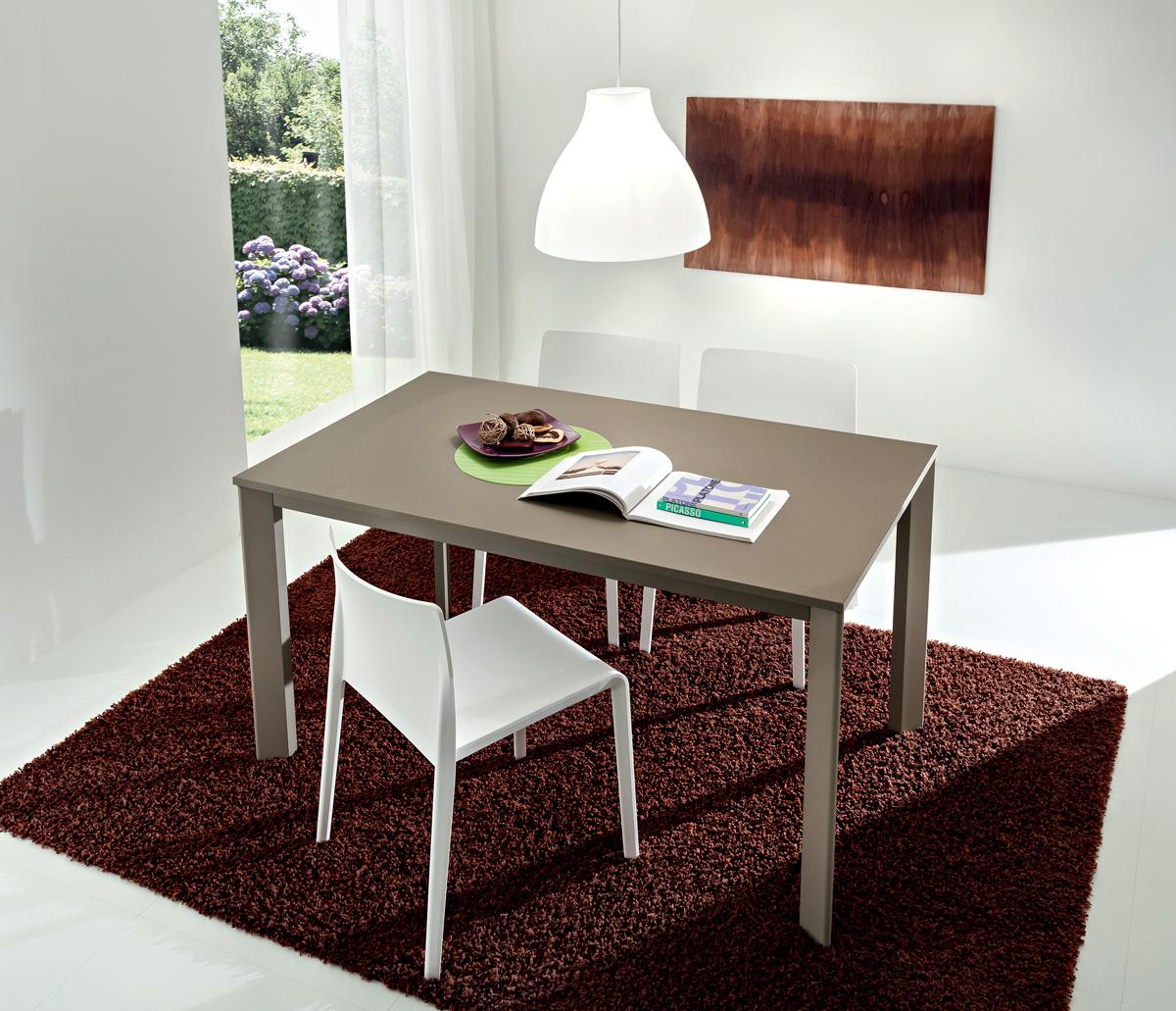 Mario - Tavolo per cucina o soggiorno moderno - INTERNO77 ...
