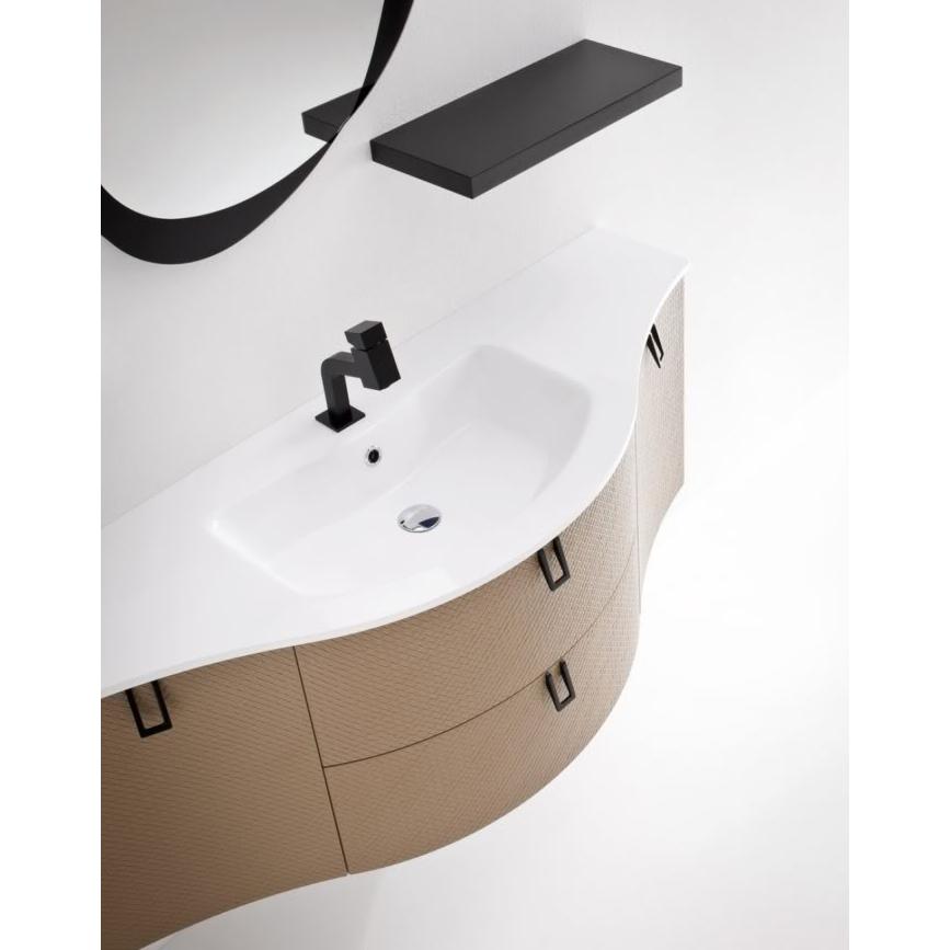 BARBET BB15 – Mobile arredo bagno elegante curvo L.141 cm ...