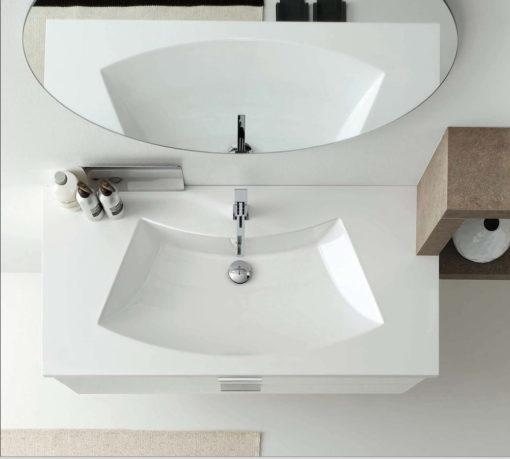 AR-FR07 - Mobile arredo bagno design L.180 cm personalizzabile COMPAB