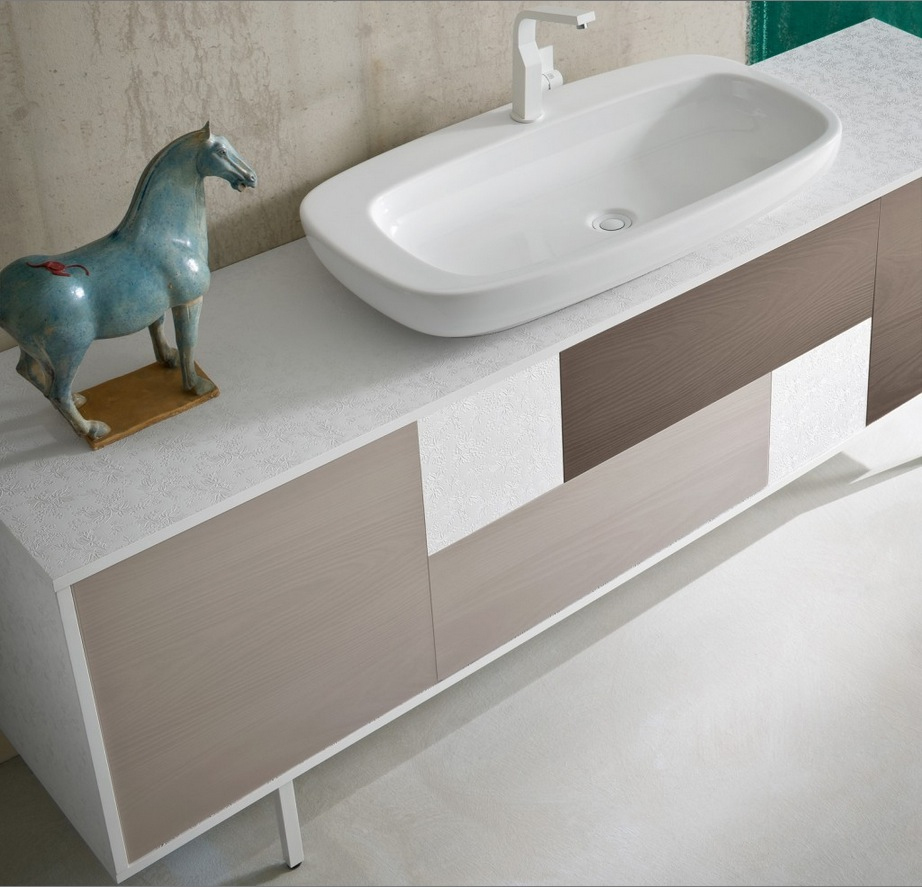 Chen cn1 mobile arredo bagno design a cassetti cm for Grande arredo mobili bari