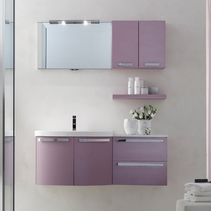Ly11 mobile arredo bagno design curvo cm personalizzabile arcom interno77 soluzioni - Mobile bagno curvo ...