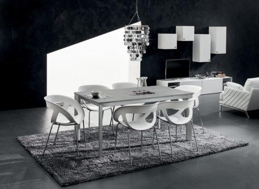 Mario - Tavolo per cucina o soggiorno moderno