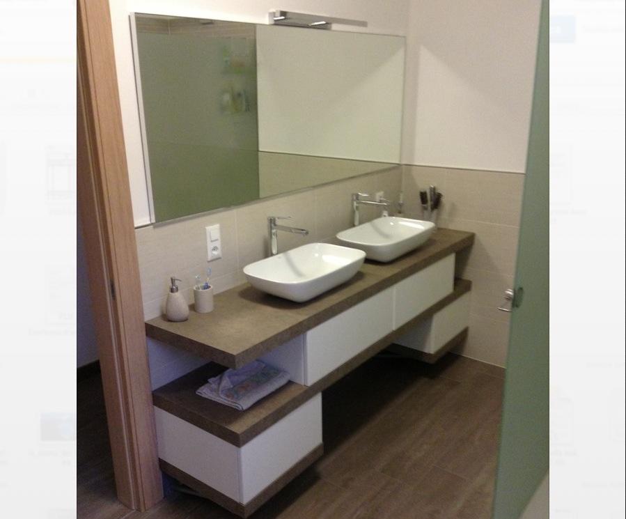 EL20 – Mobile arredo bagno design sospeso L.140 cm ...
