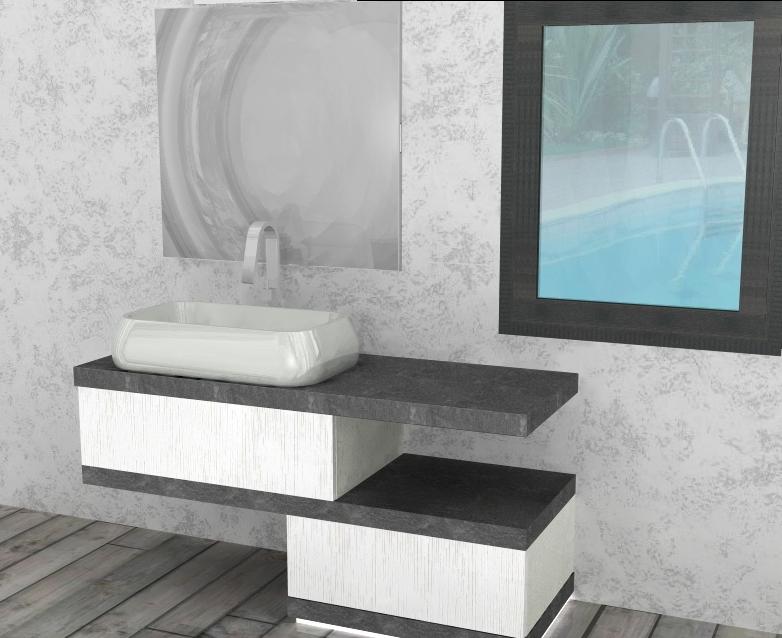 El20 mobile arredo bagno design sospeso cm for Arredo design