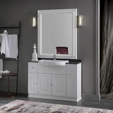 acanthis ac15 - mobile luxury arredo bagno l 122 x p 38 cm ... - Arredo Bagno Luxury