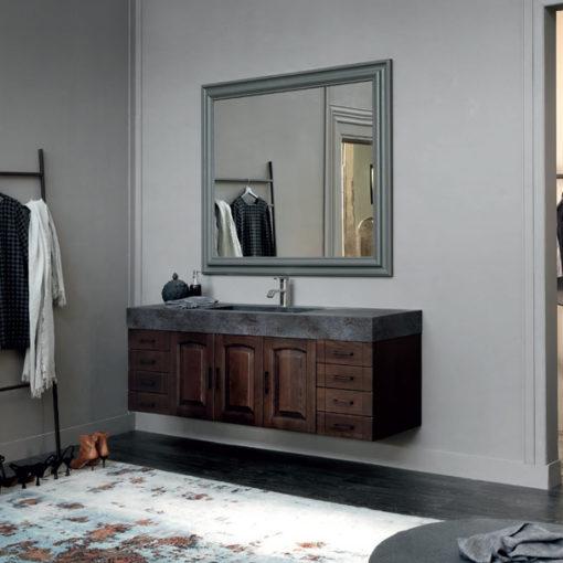 Acanthis AC20 - Mobile luxury arredo bagno L 176 x P 51 cm cm personalizzabile COMPAB