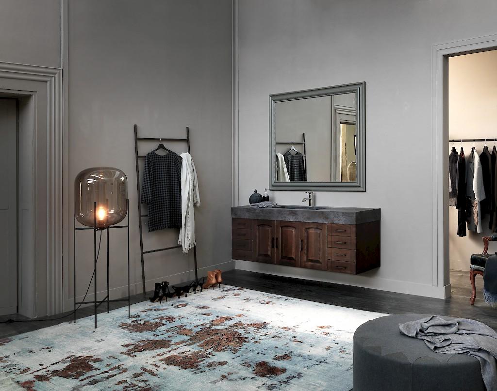 Acanthis ac20 mobile luxury arredo bagno l 176 x p 51 cm