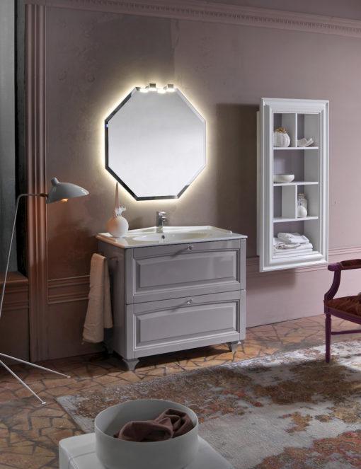 Acanthis AC14 - Mobile luxury arredo bagno L 97+70 x P 51,5/26 cm personalizzabile COMPAB