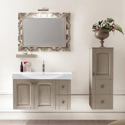 Acanthis AC22 - Mobile luxury arredo bagno L 97+35 x P 49/38 cm personalizzabile COMPAB