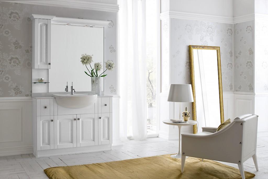 Acanthis ac24 mobile luxury arredo bagno l 122 x p 38 66 for Arredo bagno compab
