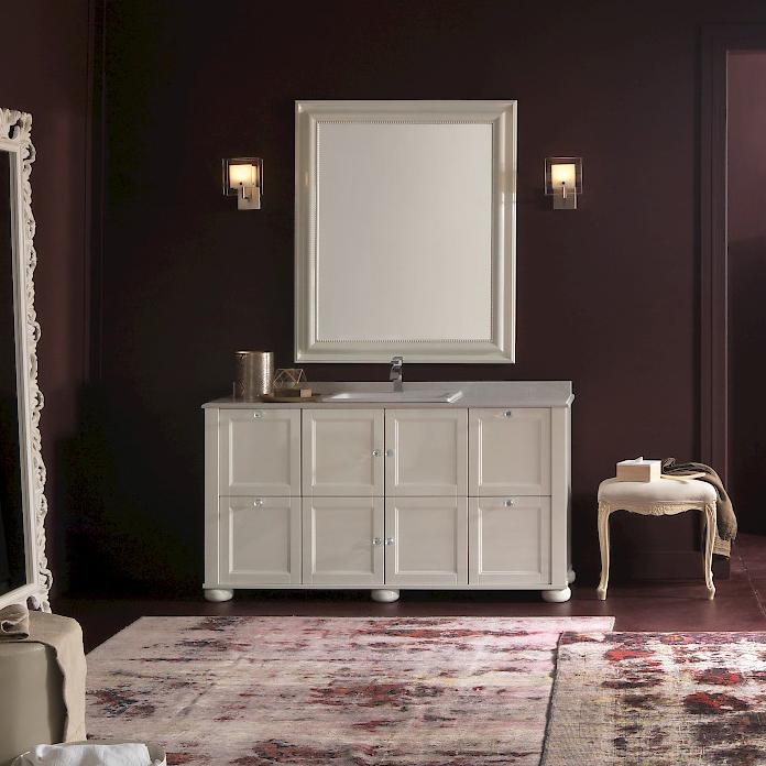 diamante dm23 - mobile luxury arredo bagno l 152,4 x p 51,5 cm ... - Arredo Bagno Luxury