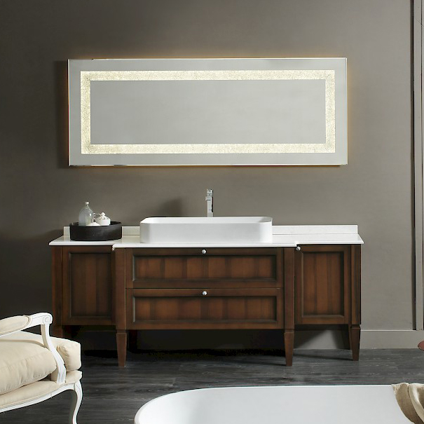 diamante dm19 - mobile luxury arredo bagno l 192 x p 51,5 cm ... - Arredo Bagno Luxury