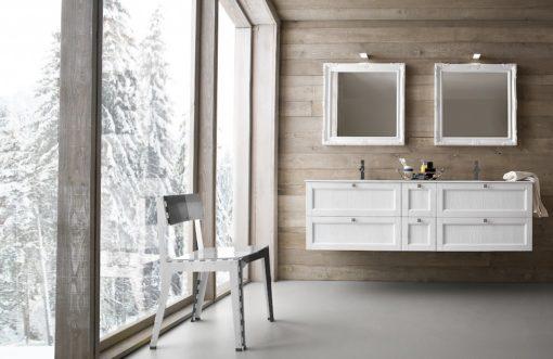 Diamante DM2 - Mobile luxury arredo bagno L 167 x P 51 cm personalizzabile COMPAB