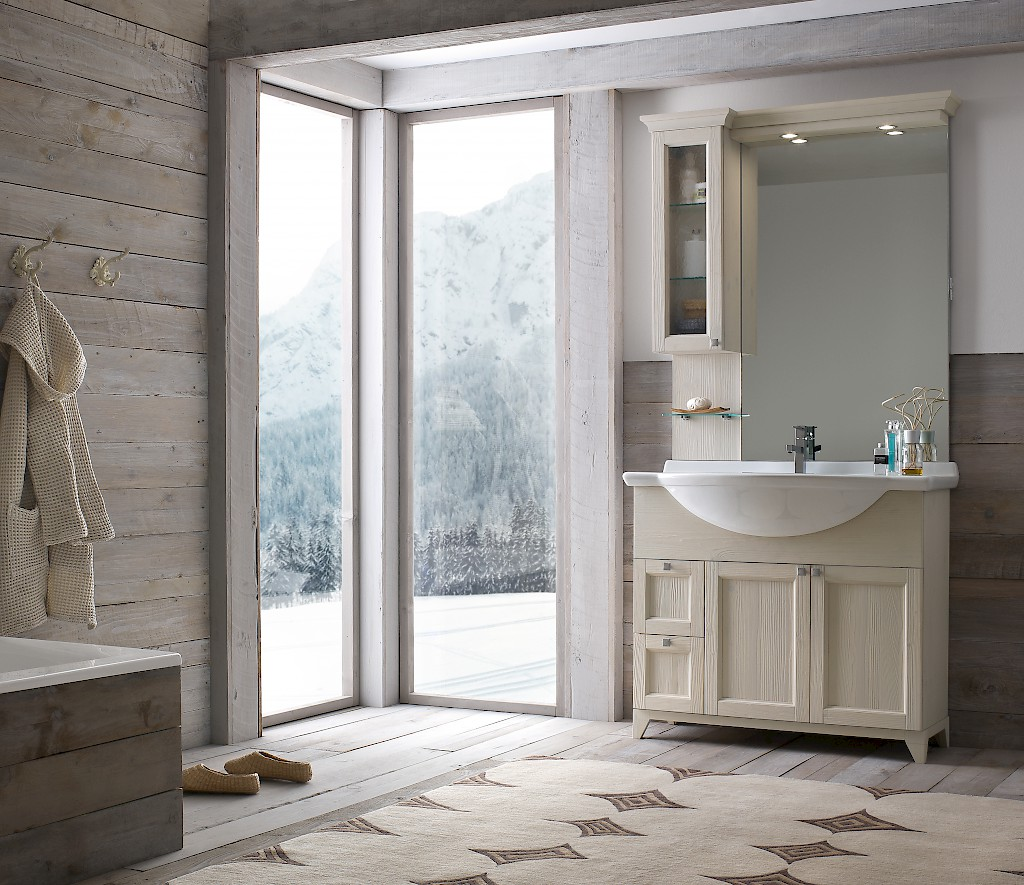 Diamante DM8 - Mobile luxury arredo bagno L 101 x P 52 cm ...
