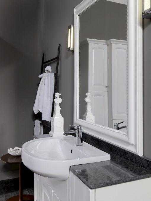 Acanthis AC15b - Mobile luxury arredo bagno L 122 x P 38 cm personalizzabile COMPAB