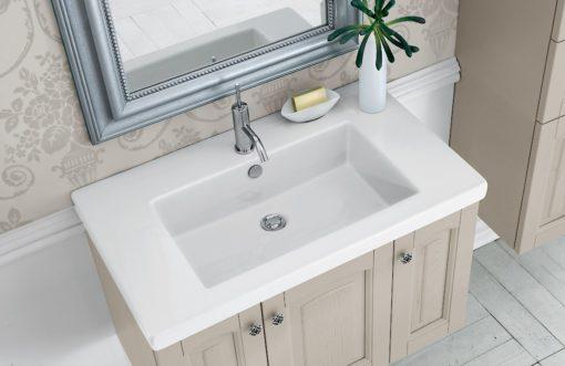 Acanthis AC23 - Mobile luxury arredo bagno L 86,5+50 x P 51,5/38 cm personalizzabile COMPAB