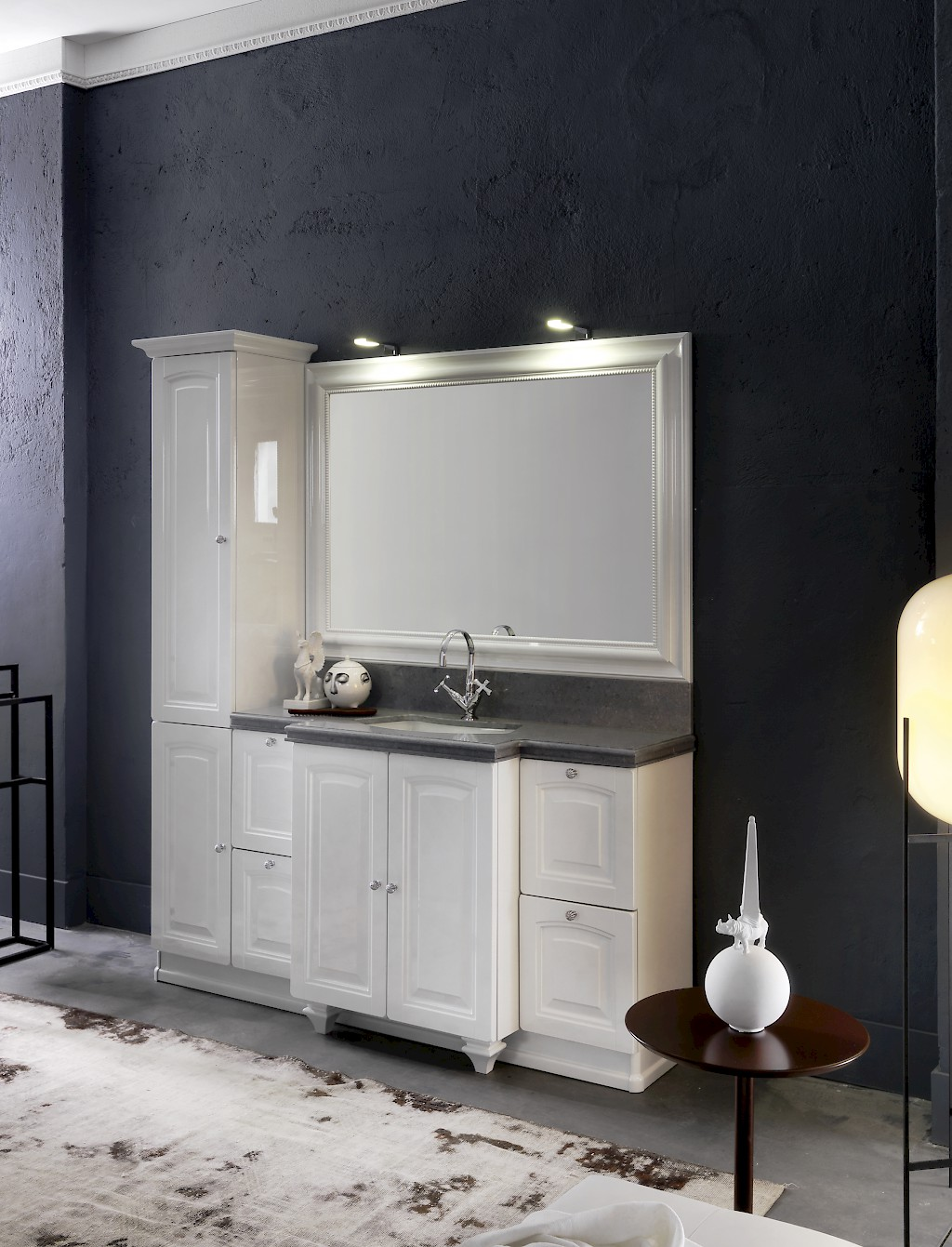 Acanthis ac13 mobile luxury arredo bagno l 181 5 x p 56 for Bagno 38