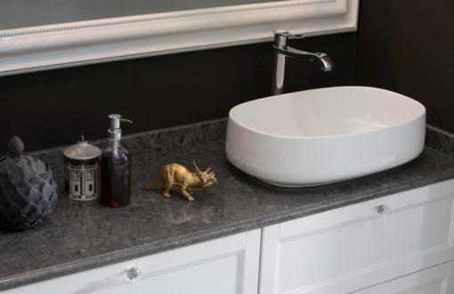 Diamante DM27 - Mobile luxury arredo bagno L 144 x P 51,5 cm personalizzabile COMPAB