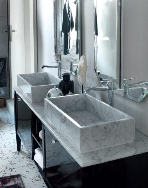 Diamante DM25 - Mobile luxury arredo bagno L 190 x P 51,5 cm personalizzabile COMPAB