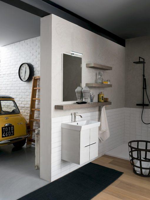 B-GO LIFE B201 65 - Mobile arredo bagno design L.150 cm personalizzabile COMPAB