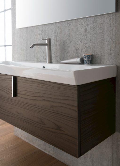 B201 Life B201 66 - Mobile arredo bagno design L.106+70 cm personalizzabile COMPAB