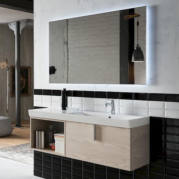B201 67 life mobile arredo bagno design l 121 x p 40 cm for Accessori arredo bagno design