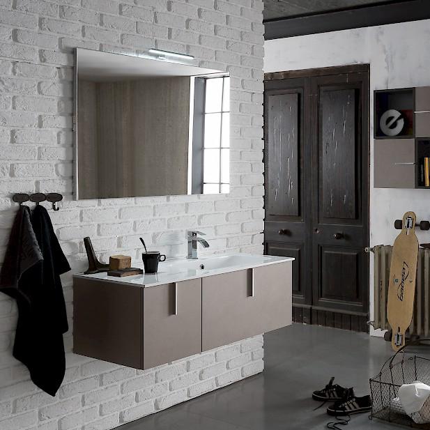 B201 69 life mobile arredo bagno design l 105 5 70 x p for Mobile bagno misure