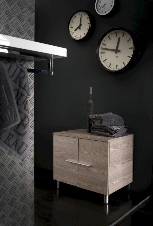 B201 76 Life - Mobile arredo bagno design L 72+70 x P 51,5/38 cm personalizzabile COMPAB