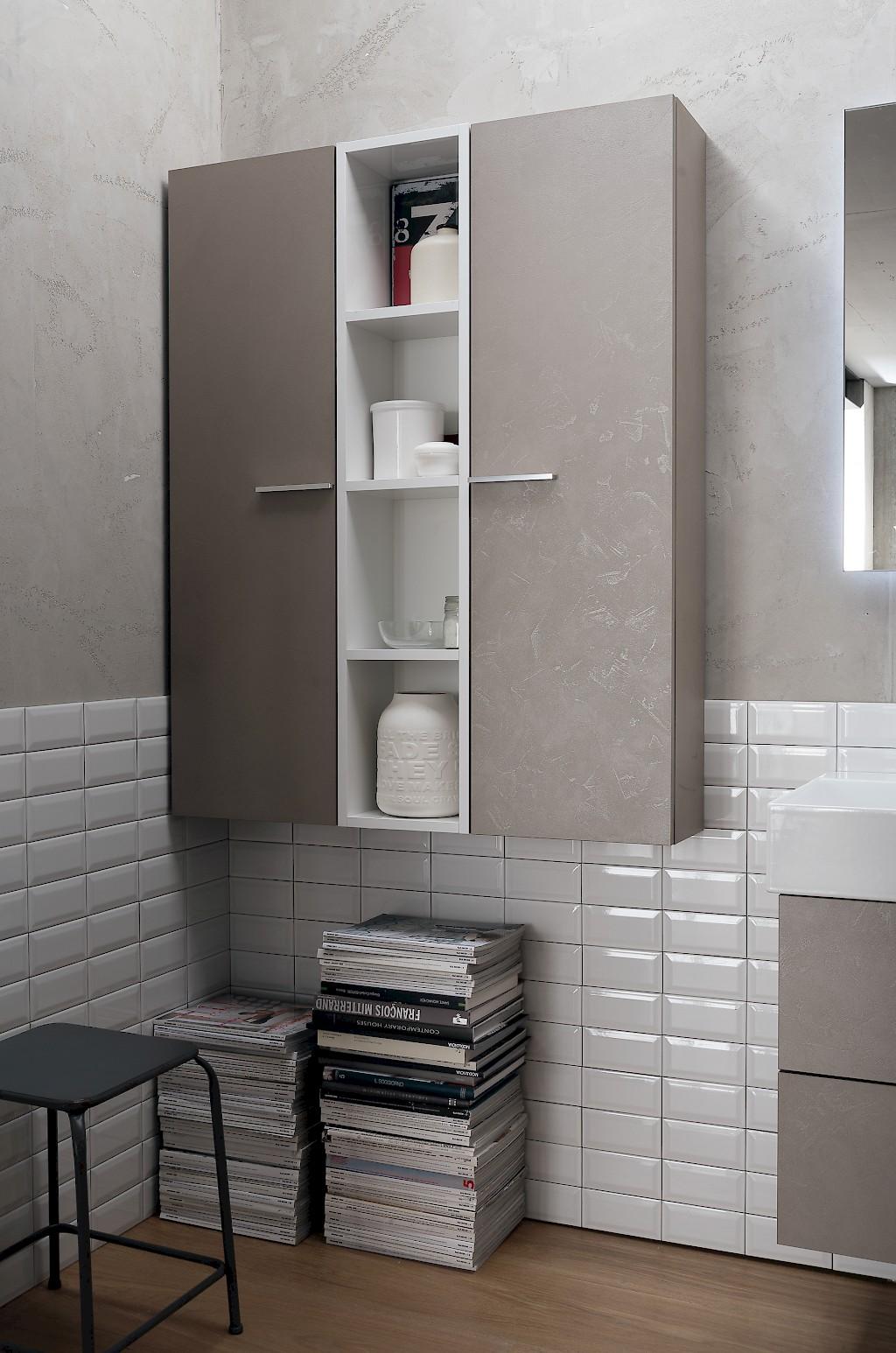 B201 77 life mobile arredo bagno design l 95 97 x p 20 8 51 5 cm personalizzabile compab - Arredo bagno compab ...
