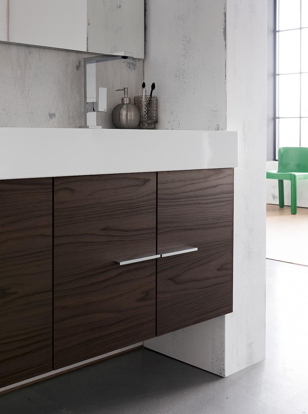 B201 79 Life - Mobile arredo bagno design L 142 x P 51,5 cm personalizzabile COMPAB - INTERNO77 ...
