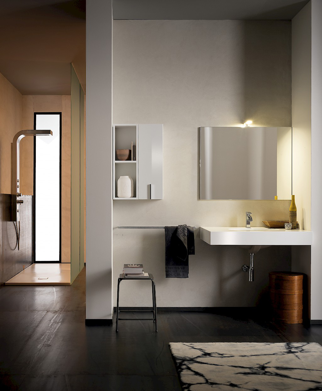 t125 01 mobile arredo bagno design l 50 95 cm