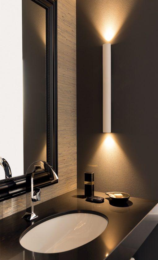 T125 02 - Mobile arredo bagno design L 120 x P 51 cm personalizzabile COMPAB