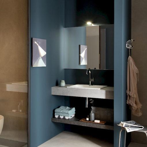 T125 04 - Mobile arredo bagno design L 105 x P 51 cm personalizzabile COMPAB
