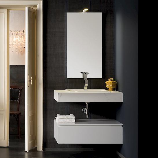 T125 06 mobile arredo bagno design l 85 x p 51 cm personalizzabile compab interno77 - Arredo bagno compab ...