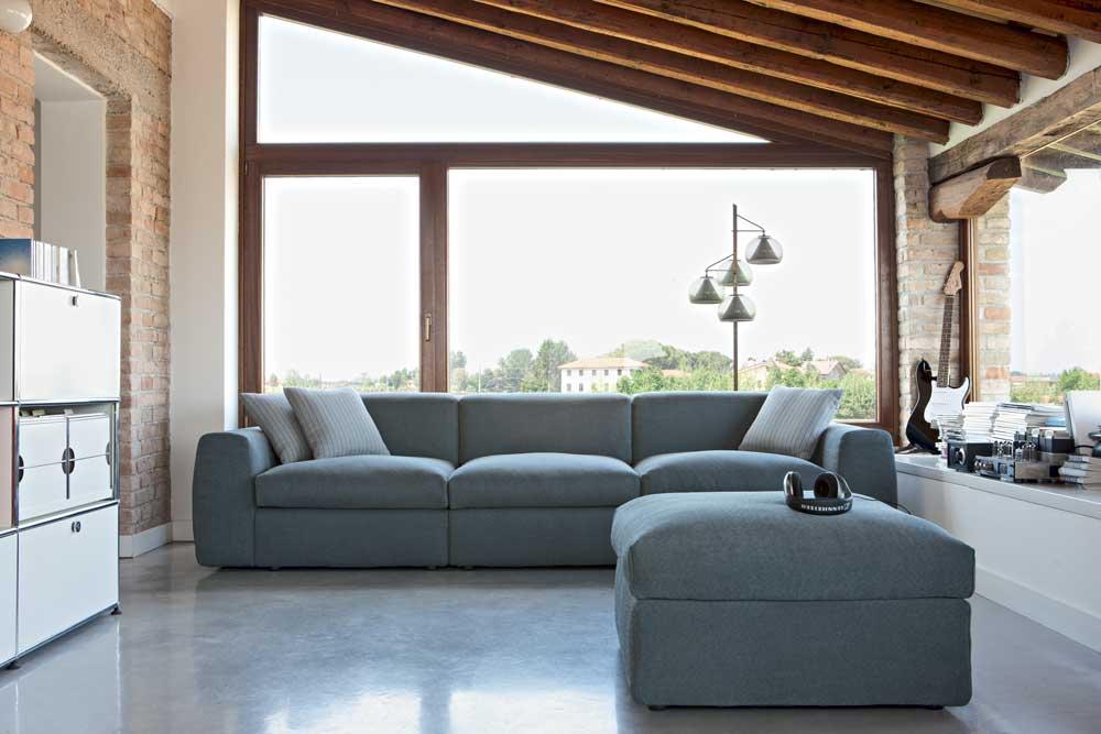 Divano Sotto La Finestra.Nevada Divano Design Moderno In Tessuto O Ecopelle Interno77
